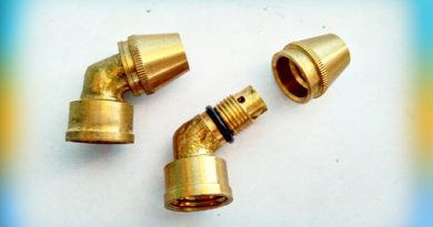 Nozzle L1 Bengkok Kecil